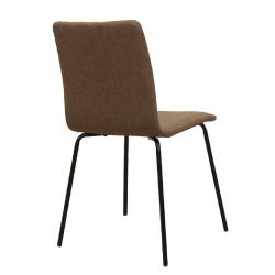 2 kusy, jedálenská stolička, hnedá/čierna, RENITA