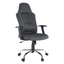 Kancelárske kreslo, sivé, VAN